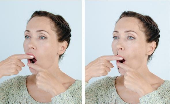 как сделать губы пухлыми Юлия Зартайская